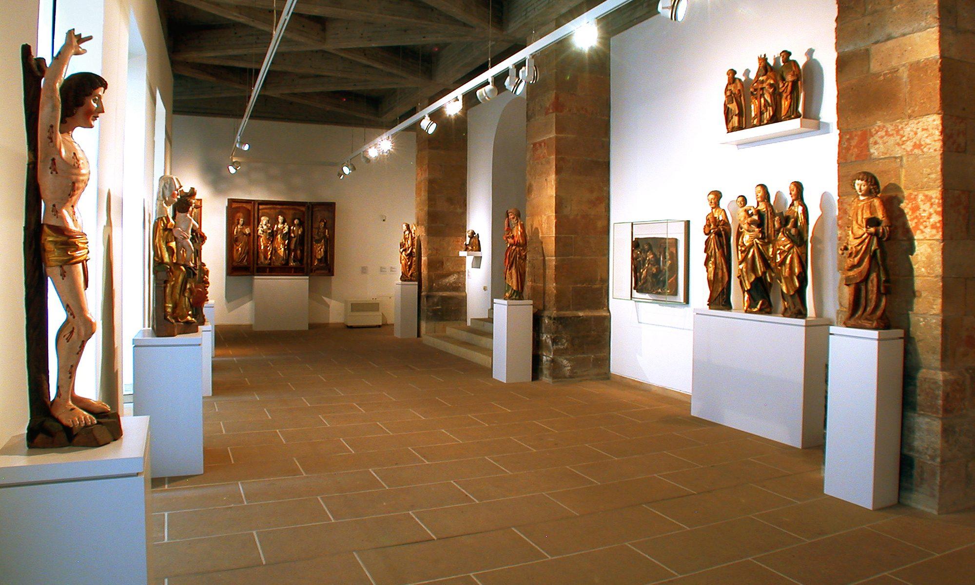 GOTISCHE SKULPTUR IN SACHSEN @ SCHLOSSBERGMUSEUM | Chemnitz | Sachsen | Deutschland