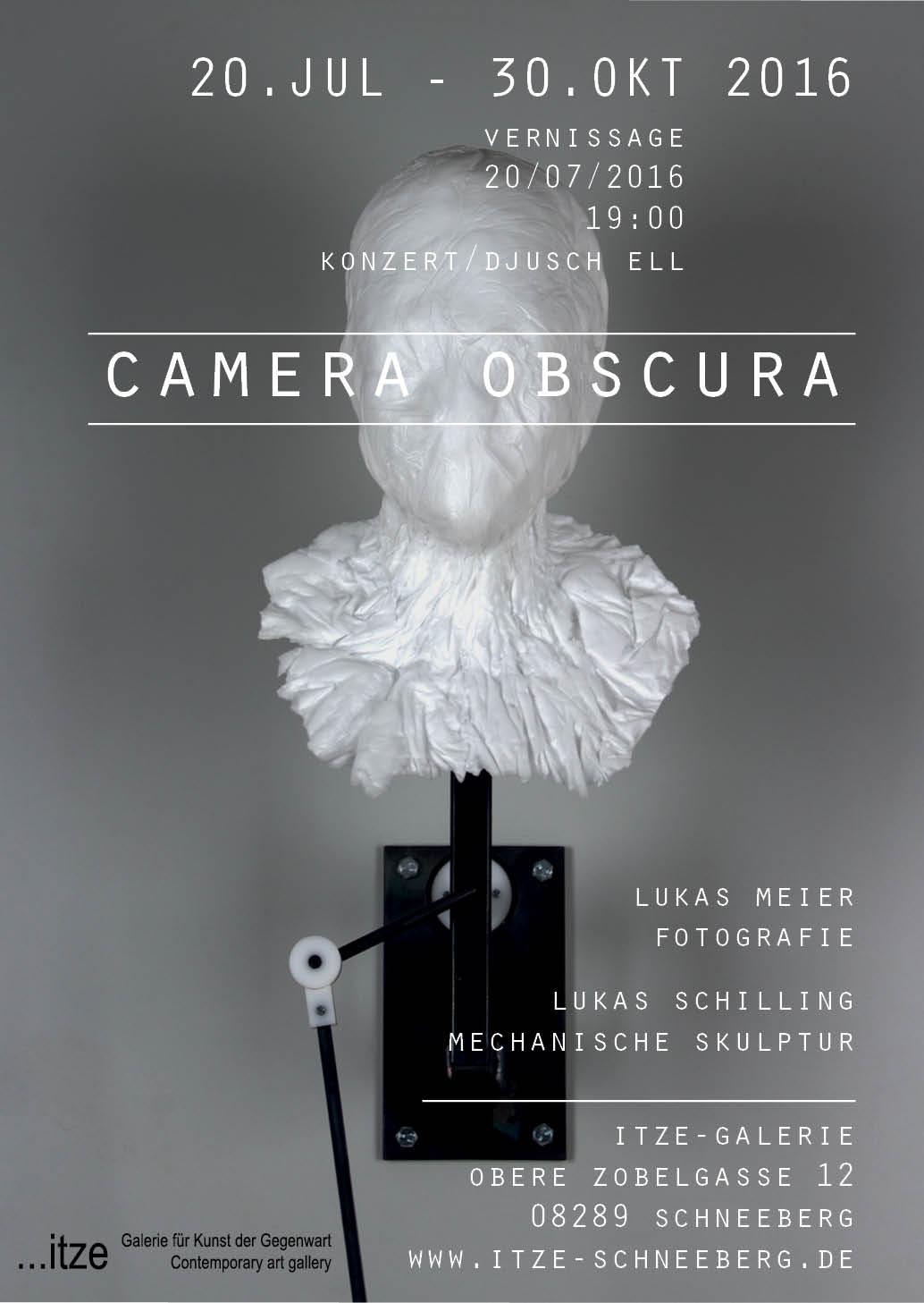 CAMERA OBSCURA @ …itze contemporary art gallery | Schneeberg | Sachsen | Deutschland