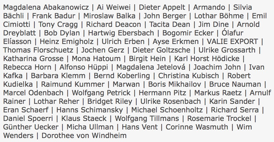 DIE AKADEMIE DER KÜNSTE · BERLIN @ KUNSTSAMMLUNGEN CHEMNITZ   Chemnitz   Sachsen   Deutschland