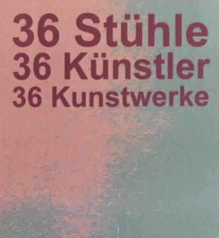 36 STÜHLE - 36 KÜNSTLER - 36 KUNSTWERKE @ Kleine Galerie Hohenstein-Ernstthal | Hohenstein-Ernstthal | Sachsen | Deutschland