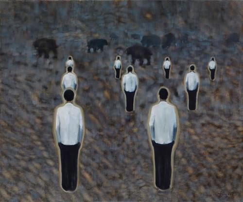 CHIKA ARUGA + CSABA FÜRJESI @ Galerie Borssenanger | Chemnitz | Sachsen | Deutschland