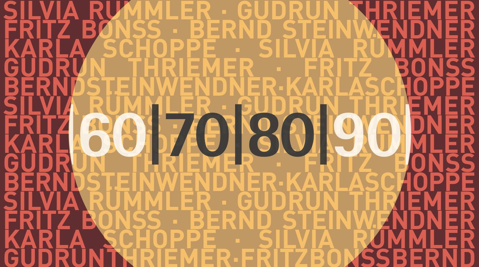 ... 70 ... 80 ... JUBILÄEN @ Chemnitzer Künstlerbund e.V. | Chemnitz | Sachsen | Deutschland