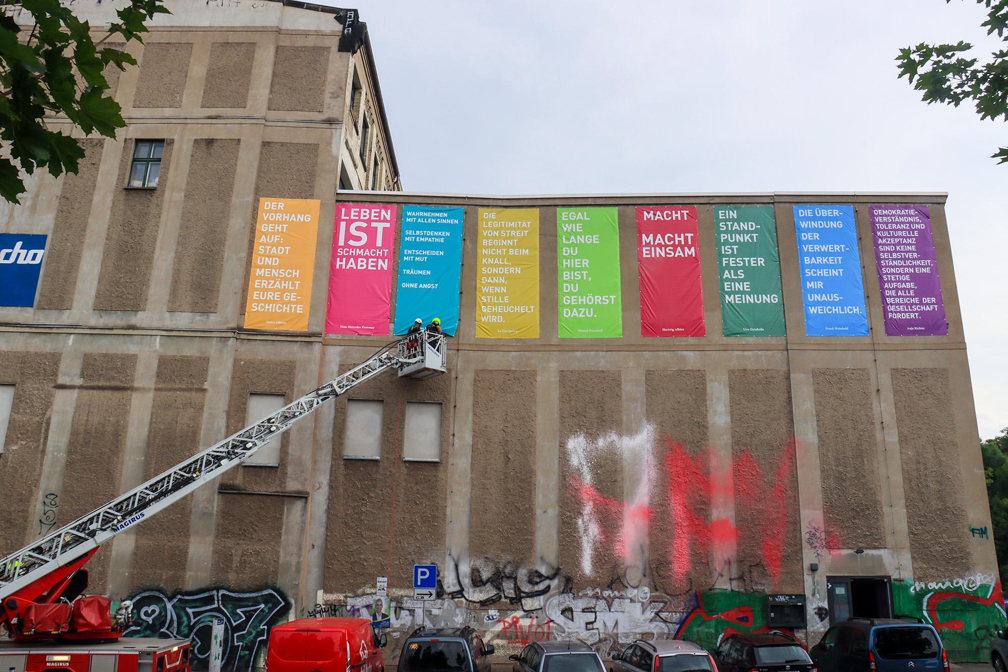 STIMMEN @ weltecho · galerie OSCAR | Chemnitz | Sachsen | Deutschland